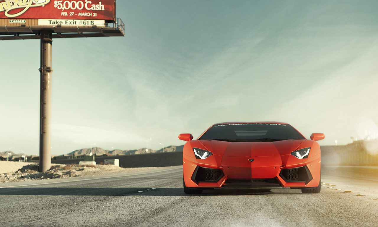 Aventador Wallpaper by